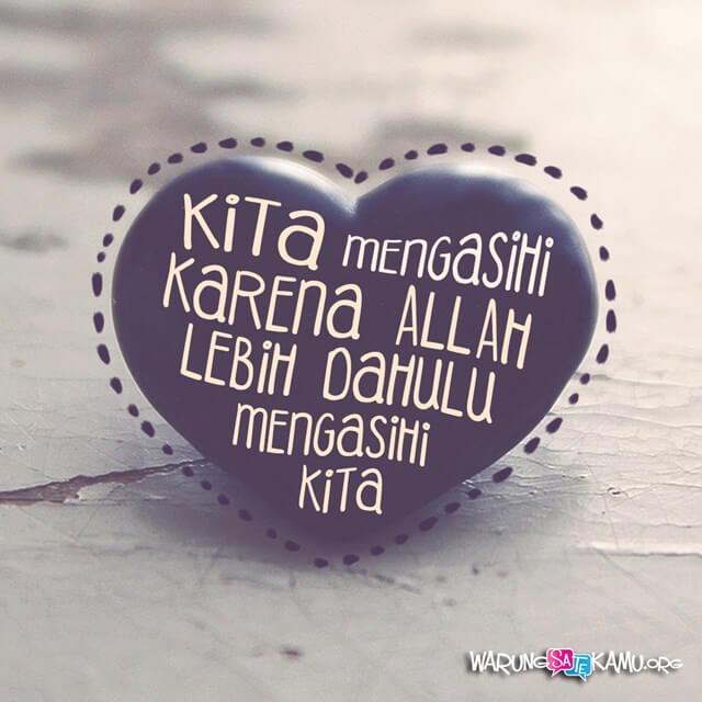 Kasihlah yang Pertama