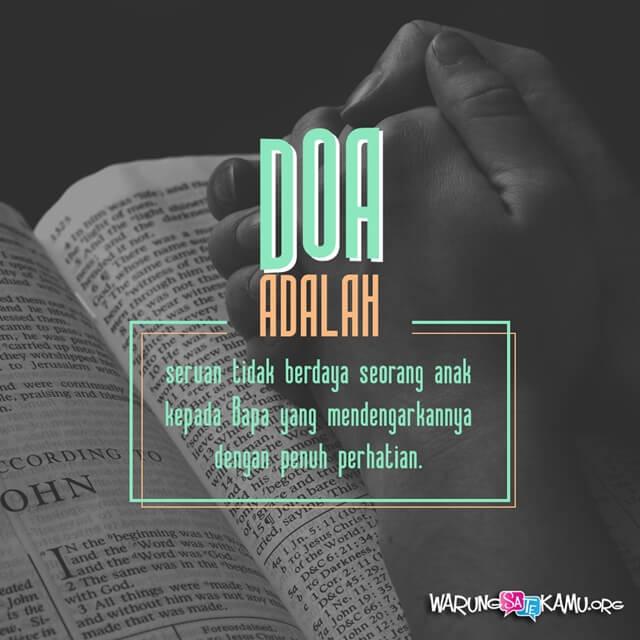 Sampaikan kepada Allah