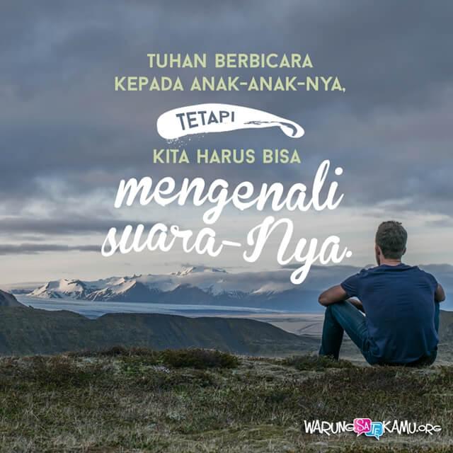 Mendengarkan Allah