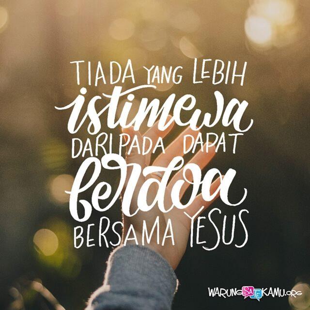Sahabat Doa Yang Sempurna Warungsatekamuorg