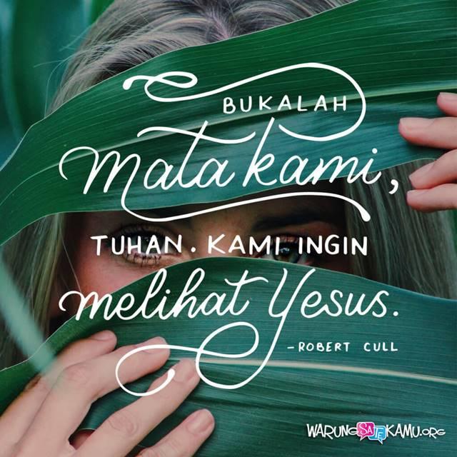 Yesus Tahu Alasannya