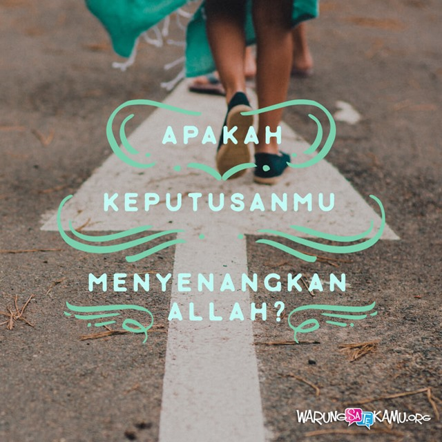 Tanyakan Dahulu kepada Allah
