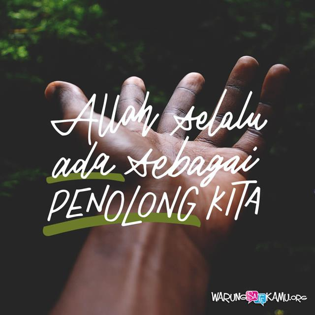 Tangan yang Mengangkat Kita