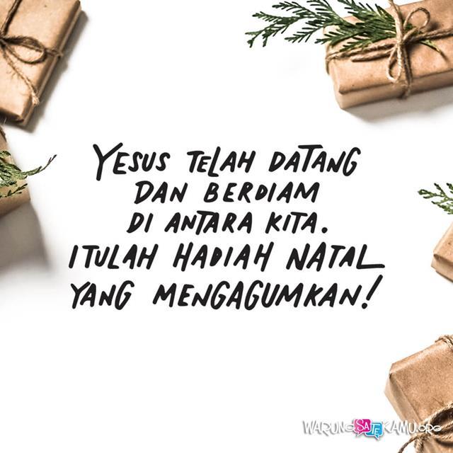 Sepucuk Surat Natal