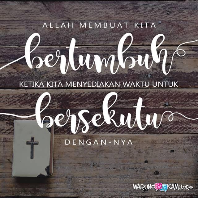 Berdoa dan Bertumbuh