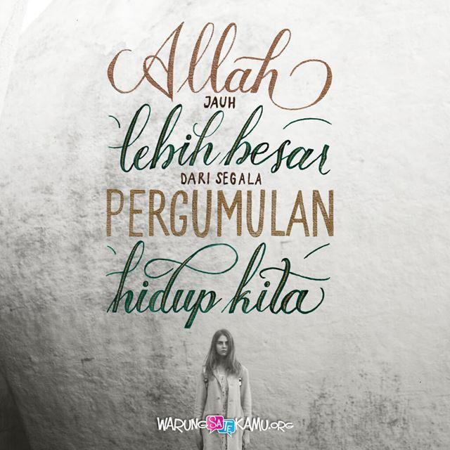 Allah Jauh Lebih Besar