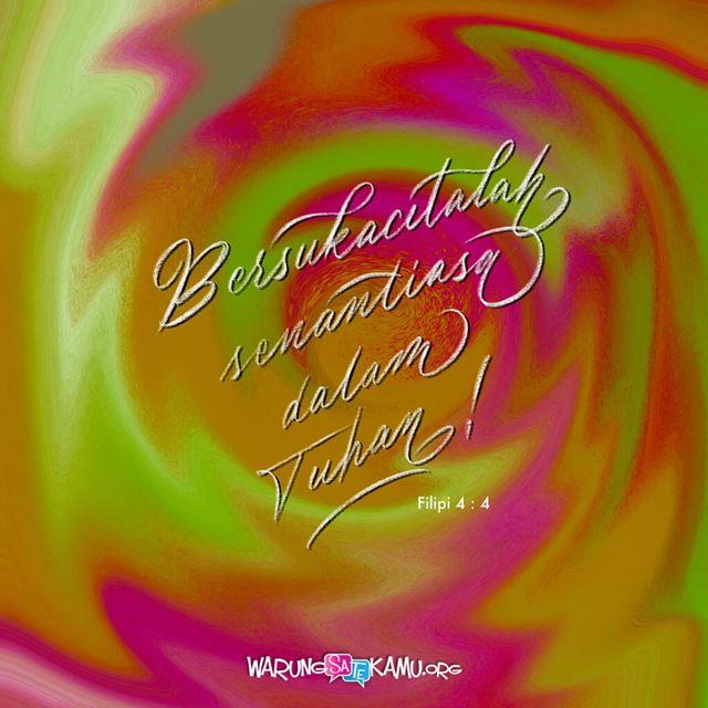 Memikirkan Sukacita