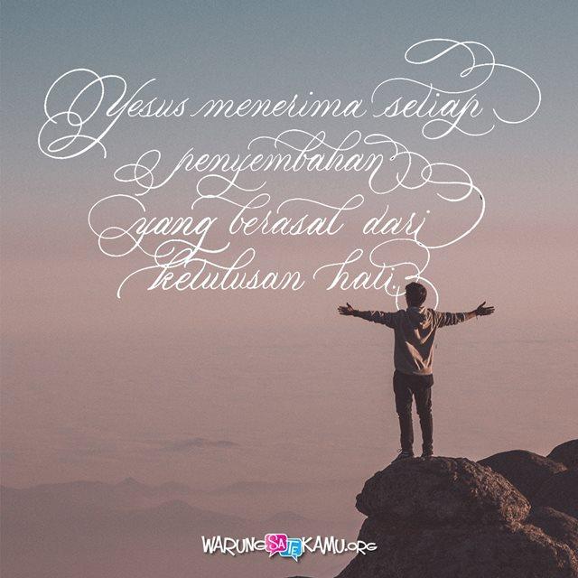 Menari bagi Tuhan