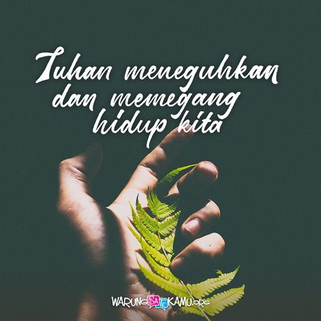 Allah Memegang Kita
