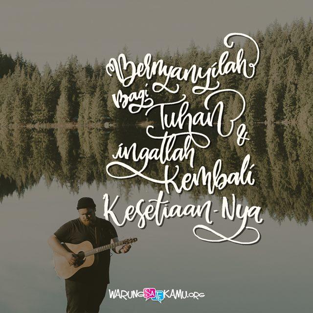 Ingat untuk Menyanyi